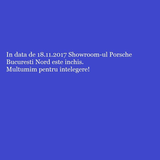 Showroom Inchis